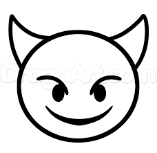 921x894 Emoji Faces Devil Coloring Pages Arty Stuff Pinterest