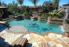 pool tile ideas in different types and designs bedroom