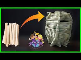 How To Make Napkin Holder Using Popsicle Sticks