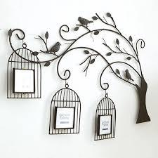 metall baum stil handmade retro eisen baum birdcage kreative wohnzimmer wandbild wand bilderrahmen kombination