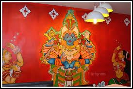 Famous Kerala Mural Artists by Lamps Thumbprinted