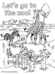 Zoo Animal Coloring Pages Preschool Best Images About Reader Bee Free Printable