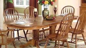 Oak Dining Room Solid Chairs Tables Sets Table Set