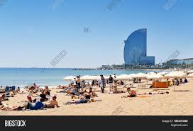 100 The W Hotel Barcelona Spain BARCELONA SPAIN MAY Image Photo Free Trial Bigstock