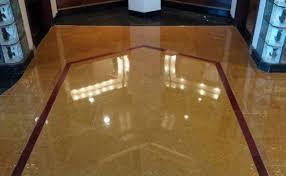 Wood Inlays Limestone Floor San Diego After