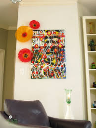 Orange And Red Poppy Glass Wall Art Collection 42500 Via Etsy