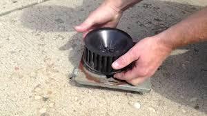 repairing a nutone bathroom fan by how to bob youtube