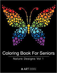 I Love The Butterfly On This Coloring Book For Seniors