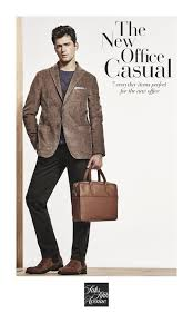 The Cover Of Saks Fifth Avenues New Office Casual Guide