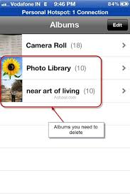 Delete Albums from iPhone Easily using iTunes