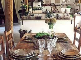 Rustic Decorating Style Wood Dining Table For French Country Home Ideas Design
