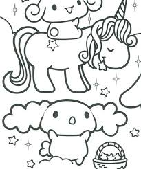 Mamegoma Coloring Pages Free Printable Page Cute