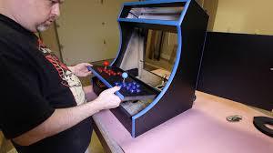 Bartop Arcade Cabinet Plans Pdf by Retropie Bartop Arcade Cabinet 0060 The Geek Pub