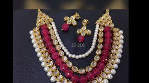 100 Pearl Design Latest Of Necklace