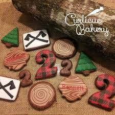 16 Best Lumberjack Woodland Cookies Images On Pinterest