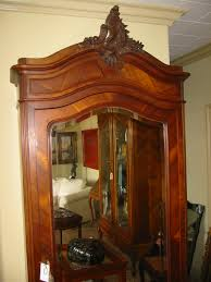 French Mahogany Walnut Wood Mirror Armoire For Sale | Antiques.com ... Mahogany Armoire Abolishrmcom 90 Off Ralph Lauren Mahogany Armoire Storage Antique Blackcrowus 19th Century Louis Xiv St 61 Best Bookcases And Display Cabinets Images On Pinterest A Dutch Neoclassical With Floral Marquetry Inlay Amazoncom Southern Enterprises Jewelry Classic Fniture Chifferobe For Sale Wardrobe Bedroom Wonderful Design Home Perfect Doing Your Makeup Before Work And Aessing