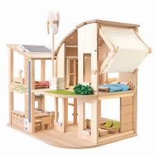 green dollhouse with furniture u2013 plantoys usa