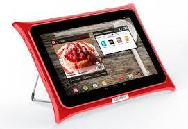 tablette cuisine qooq tablette qooq v3 android 10 1 kitchenproof accessoires