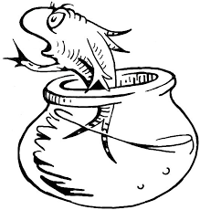How To Draw The Fish From Cat In Hat Dr Seuss Book
