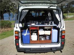 Low Top Campervan Features In Boot