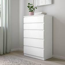 kullen kommode mit 5 schubladen weiß 70x112 cm