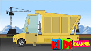 Dump Truck | Formation & Uses Video For Kids | Cartoon About Cars ...