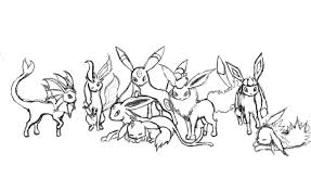 28 Collection Of Pokemon Coloring Pages Eevee Evolutions Glaceon