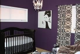 chambre violet et deco chambre fille mauve et gris visuel 7