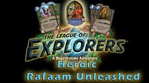 Hearthstone Hunter Beast Deck Loe by How To Beat Heroic Rafaam Unleashed Incl Decklist Hearthstone
