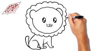 1280x720 Easy Cartoon Lion Drawings