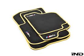 E30 Convertible Floor Mats by Ind F8x M3 M4 Custom Floor Mat Set