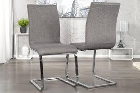 eleganter design freischwinger hton stuhl strukturstoff