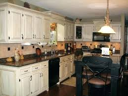 Rustic Chic Kitchen Cabinets Van Shabby Idea With White And