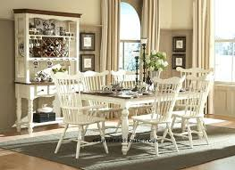 White Table Settings Country Dining Room Sets Chairs With Style