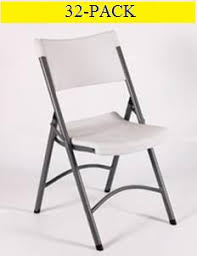 xso plastic folding chairs for sale act bm gray seat and back 32 pack