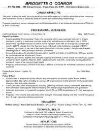 Cv Profile Examples Career Change 10