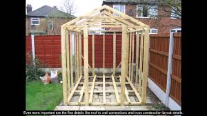Free 10x12 Gable Shed Plans by Shed Dormer Plans Youtube