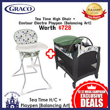 Graco Special Promo[Exclusive Bundle Deal] GRACO Pack N Play Contour  Electra Playpen + High Chair (Balancing Art) Graco Pack N Play Playard With Cuddle Cove Rocking Seat Winslet The 6 Best N Plays Of 20 Bassinet 5 Playards Eat Well Explore Often Baby Shower Registry Your Amazoncom Graco Strollers Wwwlittlebabycomsg Little Vacation Basics Strollercar Seathigh Chair Buy Mommy Me 3 In 1 Doll Set Purple Special Promoexclusive Bundle Deal Contour Electra Playpen High Balancing Art 4 Portable Chairs Fisherprice Rock Sleeper Is Being Recalled Vox