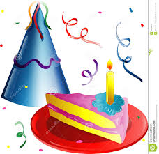 Party hat and Cake slice