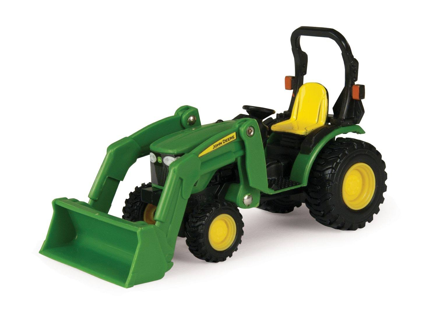 John Deere 46584 Tractor with Loader Toy - Scale 1:32