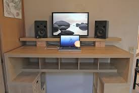 Diy Standing Desk Riser by Awesome Ikea Desk Riser The Spaceship 20 Petermarks Office Furniture