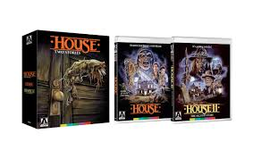 100 Blu Home Video Release Details Cover Art For HOUSE And HOUSE II THE SECOND STORY