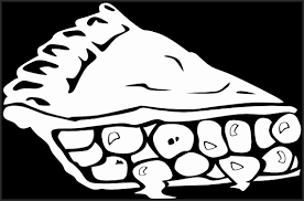 Cherry Clipart Black and White Dvaeh Unique Cherry Pie B and W Clip Art at Clker