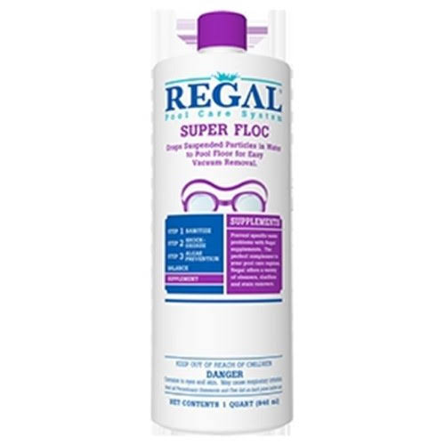 Regal 50-2730 1 Quart. Super Floc Plus Chemical for Pool, 12 per Case