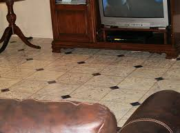 Faux Marble Hexagon Floor Tile by Faux Marble Flooring 6 Steps
