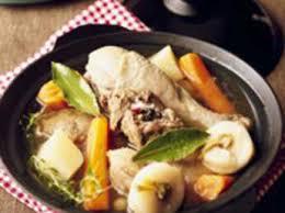 pot au feu de poulet facile et pas cher recette sur cuisine