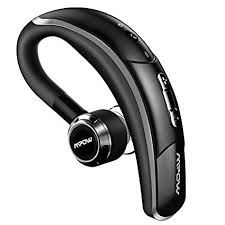 Mpow V4 1 Bluetooth Headset Wireless Earbud Headset with Microphone 6 Hrs