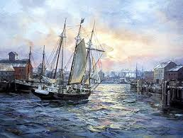 The Picture Is Of A Painting Done By Charles Vickery Rouse Simmons Known