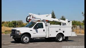 100 Altec Boom Truck 2004 Ford F550 4x4 AT35G 42 Bucket For Sale By