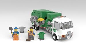 100 Lego Truck LEGO IDEAS Product Ideas Automated Garbage